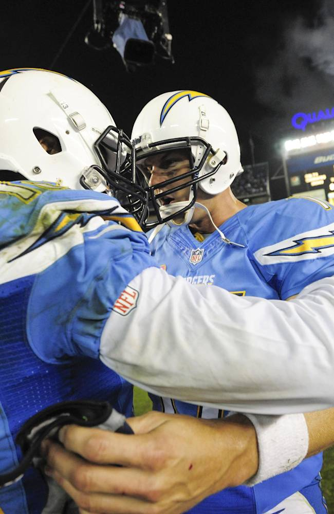 Rookie WR Allen producing for Chargers