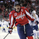 Ovechkin scores twice as Capitals blank Maple Leafs 4-0 (Yahoo Sports)