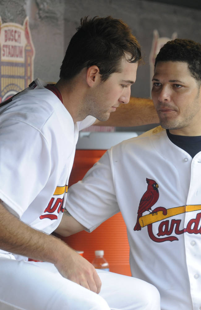 Cardinals C Molina out because of family situation
