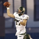 Baylor quarterback Nick Florence throws a pass during the first half of the NCAA college football Holiday Bowl game against UCLA, Thursday Dec. 27, 2012, in San Diego. (AP Photo/Lenny Ignelzi)