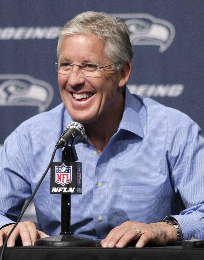 Seahawks lock up coach Pete Carroll with extension