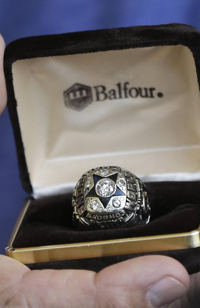 Alworth Super Bowl ring stolen 21 years ago found