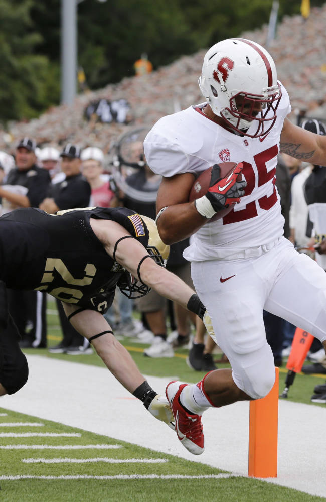 No. 5 Stanford rounding into form