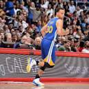 LOS ANGELES, CA - MARCH 31: Stephen Curry #30 of the Golden State Warriors during the game against the Los Angeles Clippers on March 31, 2015 at STAPLES Center in Los Angeles, California. (Photo by Andrew D. Bernstein/NBAE via Getty Images)