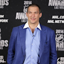 Washington Capitals' Alex Ovechkin poses on the red carpet before the NHL Awards on Tuesday, June 24, 2014, in Las Vegas The Associated Press