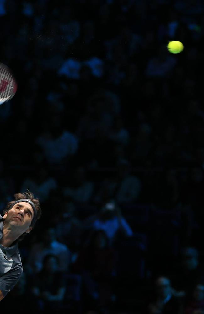 Federer hoping for brighter spell in 2014