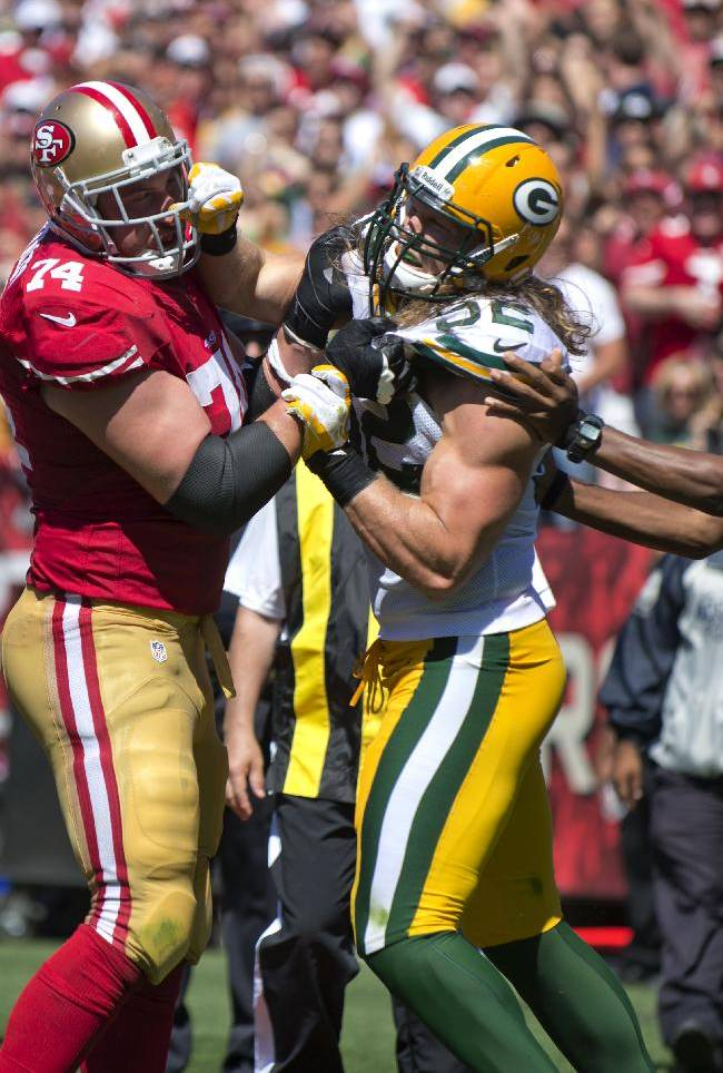 Packers' defense struggles again against 49ers