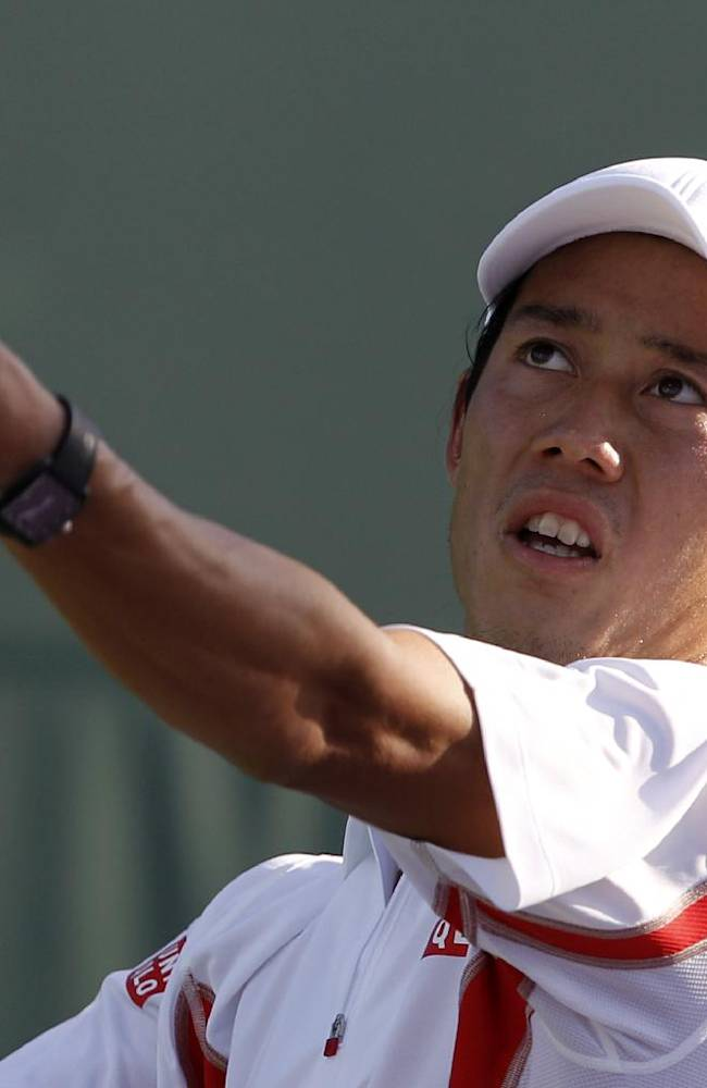 Nishikori hires Michael Chang as part-time coach