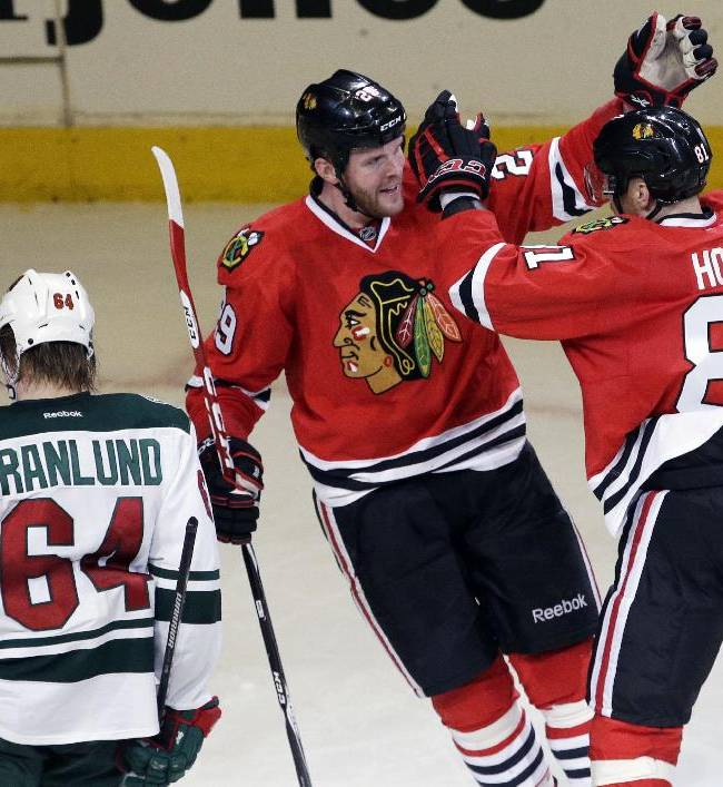 Trailing 2-0, Wild try to regroup like last time