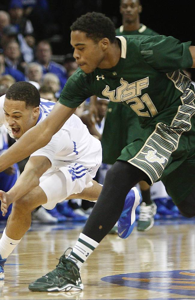 No. 23 Memphis beats South Florida 80-58