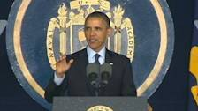 President Obama's Naval Academy Commencement Speech