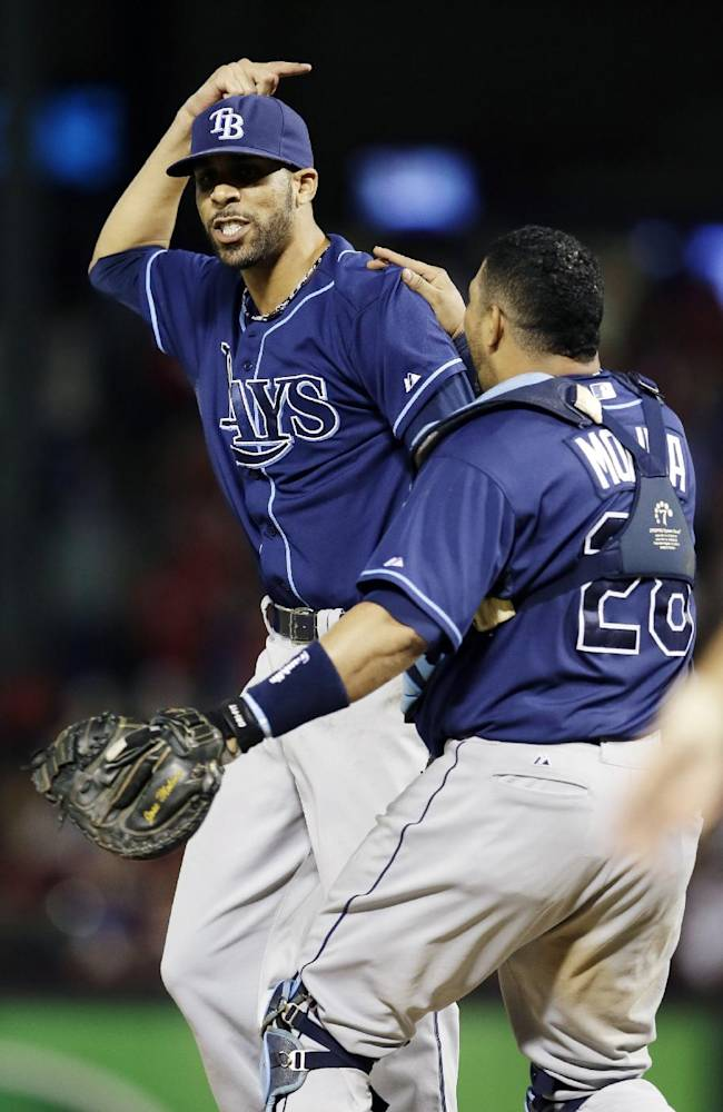 Rays back in playoffs after 5-2 win at Texas