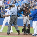 Bautista hit by pitch, Gibbons ejected The Associated Press