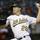 Kazmir helps A's blank Mariners 4-0 The Associated Press