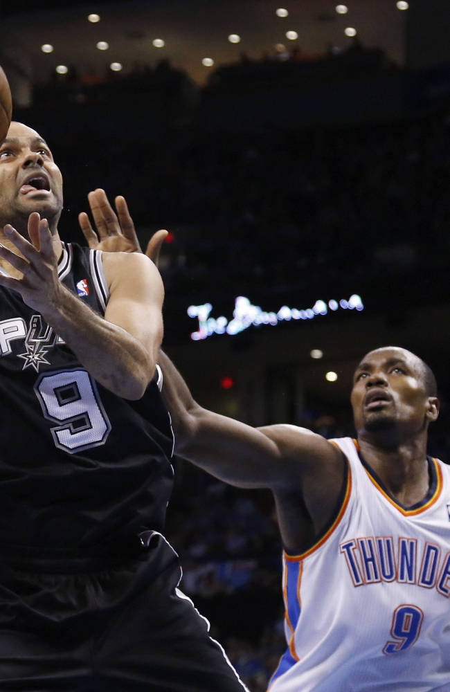 Durant, Thunder end Spurs' 19-game win streak