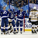 Lightning score quickly after Stamkos fight, beat Bruins 5-3 The Associated Press