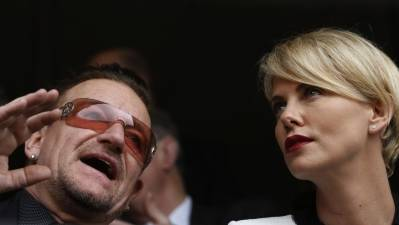 Celebrities Arrive for Mandela Memorial