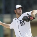 Verlander leaves with triceps cramping in Tigers' loss The Associated Press