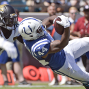 Colts' Bradshaw thrives on comeback trail The Associated Press