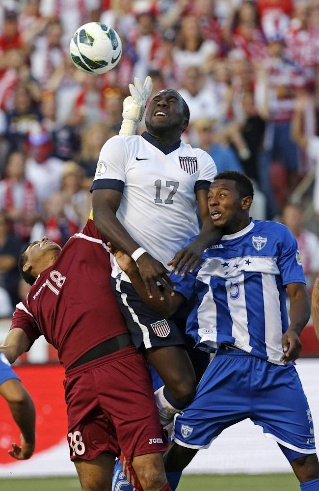 Altidore leads US over Honduras in WCup qualifying