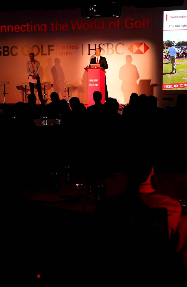 HSBC Golf Business Forum in Abu Dhabi