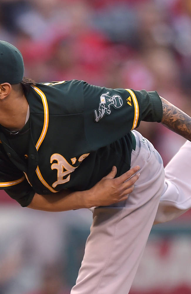 Angels cut A's AL West leads to 3 1/2 with 4-1 win