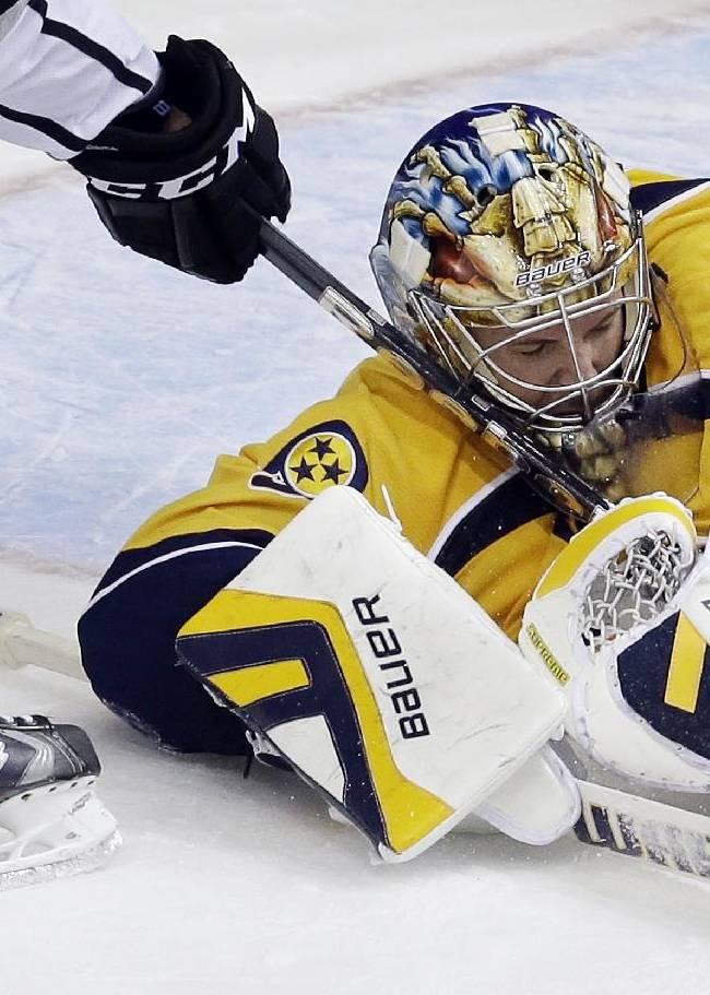Predators goalie Pekka Rinne out at least 4 weeks