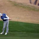 Jan 20, 2017; La Quinta, CA, USA; Hudson Swafford hits off the ninth fringe during the second round of the CareerBuilder Challenge at PGA West - Nicklaus Private Course. Mandatory Credit: Joe Camporeale-USA TODAY Sports