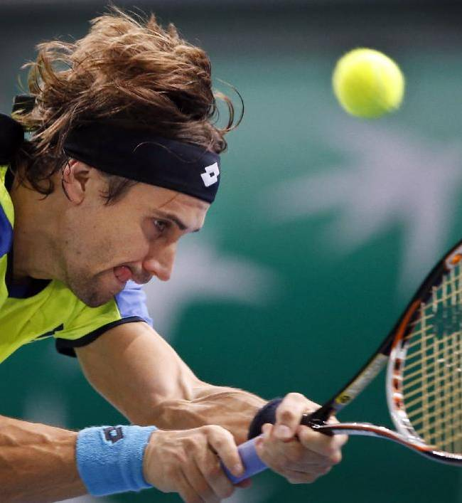 Nadal beats Granollers at Paris Masters