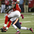 Falcons' Jones, White upset with themselves The Associated Press