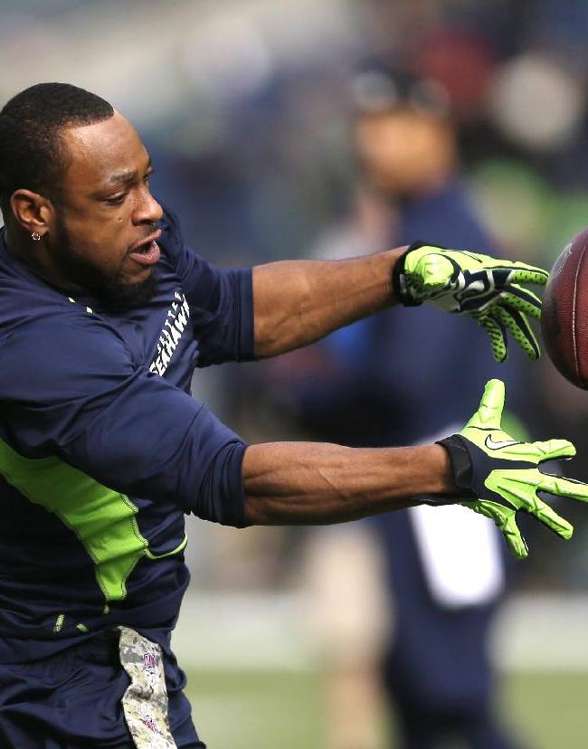 Harvin set to make Seattle debut against Vikings