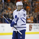 Toronto Maple Leafs' Joffrey Lupul in action during an NHL hockey game against the Philadelphia Flyers, Friday, March 28, 2014, in Philadelphia The Associated Press