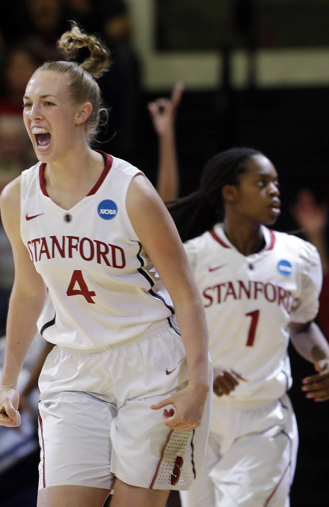 Stanford beats Penn State, into own regional final