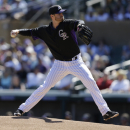 Rockies pick newcomer Kendrick to start on opening day The Associated Press