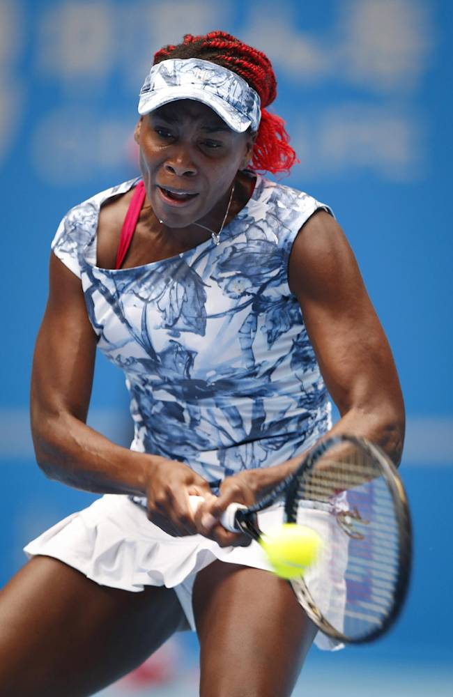 V. Williams out of China Open with viral illness