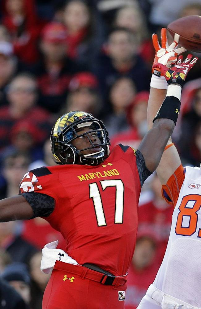 Boyd leads No. 9 Clemson past Maryland 40-27