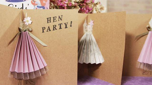 How To Make Hen Party Invitations
