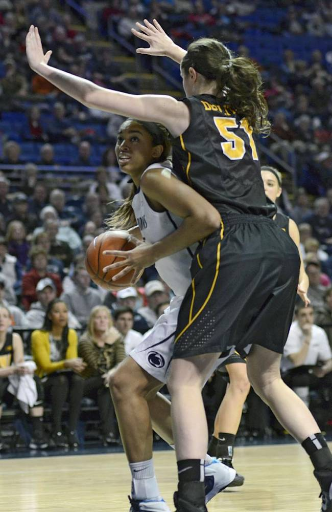 Iowa women beat No. 9 Penn State 73-70