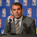 Chris Hansen addresses the media  at the St. Regis Hotel on April 3, 2013 in New York, New York. (Photo by Jesse D. Garrabrant/NBAE via Getty Images)