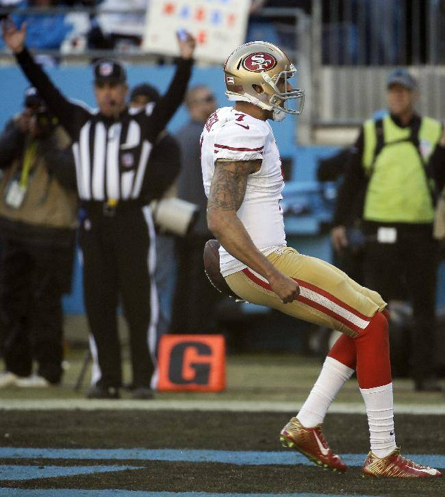 Kaepernick lifts 49ers over Panthers 23-10