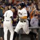 Giants spoil Hammel's debut, beat A's 5-2 The Associated Press