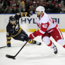 Girgensons, Ennis lift Sabres to SO win over Wings The Associated Press