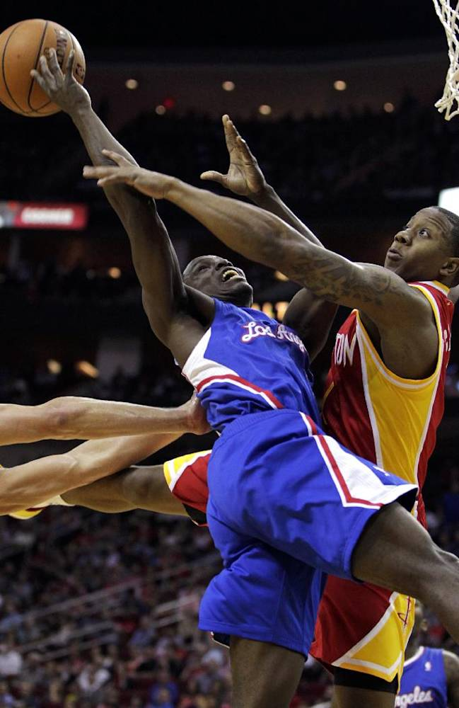 Clippers in playoffs with 118-107 win over Rockets