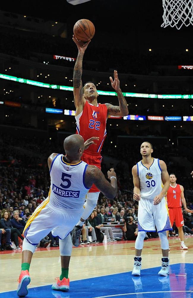 Crawford, Paul lead Clippers over Warriors 100-86