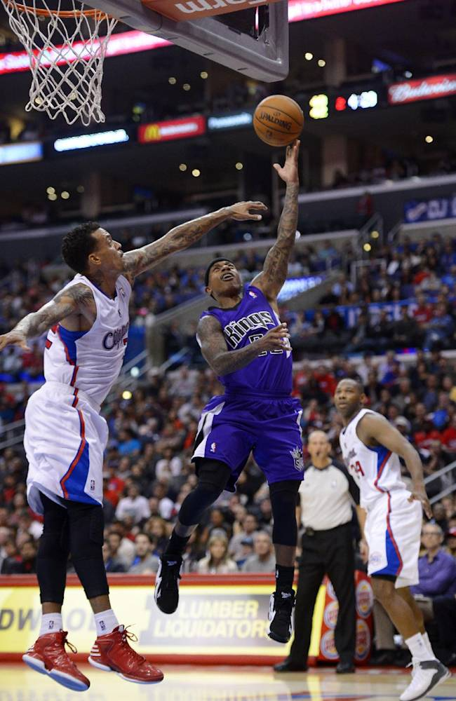 Thomas leads Kings to 110-100 win over Clippers