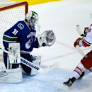 Canucks' Lack earns 1st NHL shutout, tops Canes The Associated Press