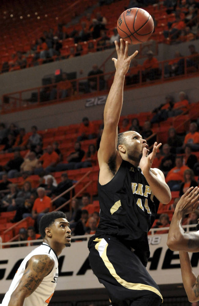 No. 8 Oklahoma St beats Arkansas-Pine Bluff 97-63