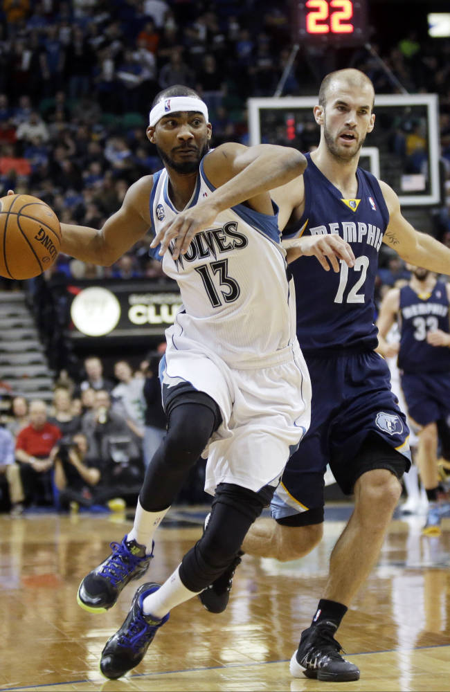 Randolph has 26; Grizzlies beat Timberwolves 94-90