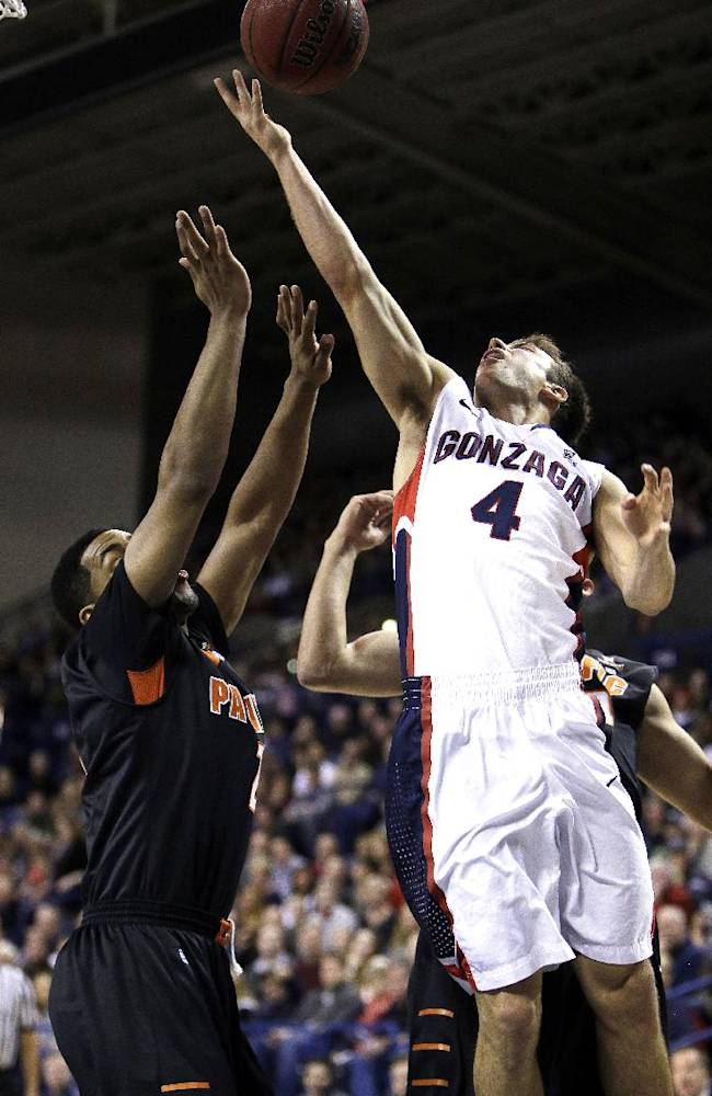 No. 24 Gonzaga beats Pacific 86-64