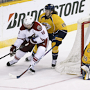 Rinne stops 29 shots as Predators beat Coyotes 2-0 The Associated Press
